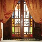 La fenêtre de notre chambre