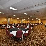 We have the largest uninterrupted convention space in Truro.