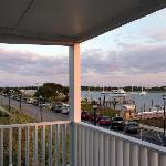 View from Inlet Inn balcony