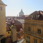Apt Karl - view of St Nicholas from room