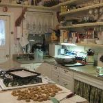 Cookies in the country kitchen