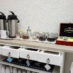 coffee and tea selection