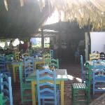 Grill restaurant on d beach