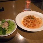 スパゲティ/茹で具合もちょうど良い感じ