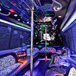 One of our extravagant party buses!