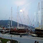 Gulets in Marmaris Harbour