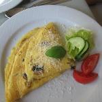 Mushroom omelot (very tasty)