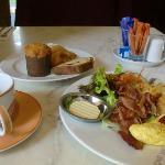 おいしくて有名な朝食