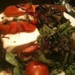 best ever tomato mozerella salad