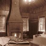 Cottage in sepia...seemed appropriate given how old the place is : )