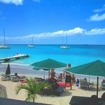 View from the balcony of Zen-it, Grand Case, Saint Martin