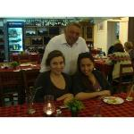 Nikolas with his lovely daughters