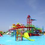 Aquapark atracttions