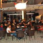 Outside Eclipse Bar Platanias