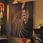 Maximo's bar decor
