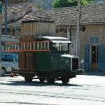 Soller shed. This is why it's great...to maintain the overhead wires