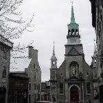 The facade from Rue Bonsecours
