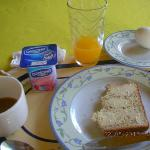 Yougrut includ breakfast