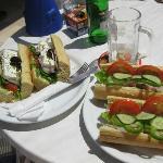 Værtens lækre sandwich