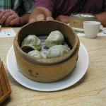 steamed tea gyoza
