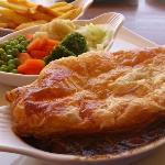 Steak and Guinness pie - lovely comfort food