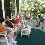Chillin' on the front porch