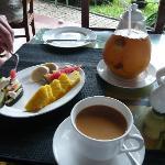 Kerala Frühstück