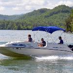 Deckboat rental