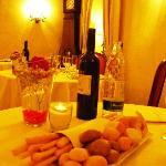 Cena, il nostro tavolo.