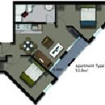 2 bedroom apartment hotel