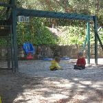 Sandy playground