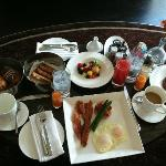 In-Room Breakfast - yummy!