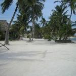 By teh beach walk!