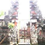 entrée du temple de la famille