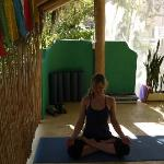 Inspiring top floor yoga space at Paraiso with great classes.