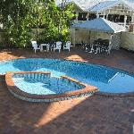 Pool & BBQ Area
