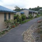 The cottages are separated by a few metres, which assures your privacy.