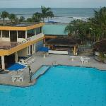 Club del Sol, one couldn't be closer to the beach