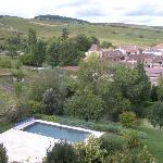 Pool & Surrounding Vineyards