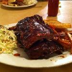 full rack of ribs