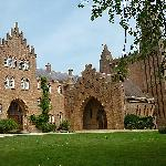 Quarr Abbey Panorama
