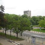 foto dalla finestra della camera da pranzo