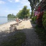 Uferrestaurant am Campingplatz Sandseele