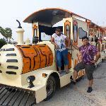 Road train at the resort