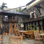 Hotel restaurante Can Borrell de Meranges