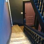 Treppenhhaus ist recht schmal