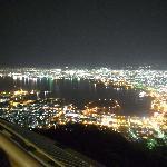 元町と函館港方面