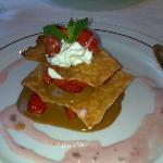 croustillant de fraise