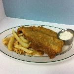 Friday's Blue Plate Special Fish and Chips