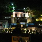 Cinque terre residence by night